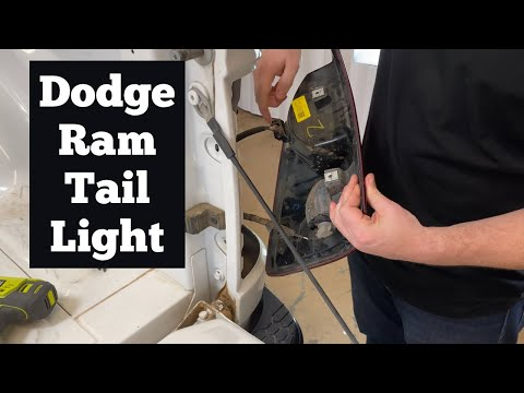 How to Remove A 2009 – 2021 Dodge Ram Tail light – Change Replace Reverse Brake Bulb Replacement