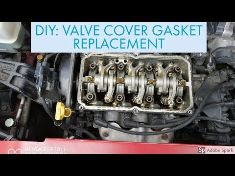 DIY REPLACEMENT OF VALVE COVER GASKET FOR HYUNDAI EON
