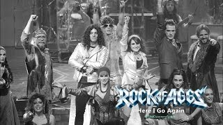 Dulce Maria - Here i go again (Rock of Ages)
