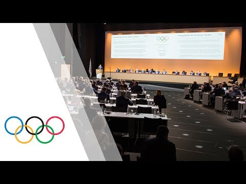 IOC 130th Session & Press Conference with IOC President Thom
