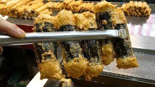Erstaunliche Fähigkeit von 1$ Fish Cake Master - Koreanisches Street Food