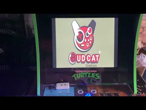TMNT arcade1up PC mod with Guitar Hero from Retro Lizard's Custom Arcades