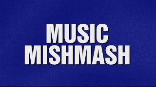 MUSIC MISMATCH category on Jeopardy!