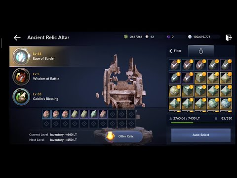 All In 48K Relic Fragment.!! -  Black Desert Mobile