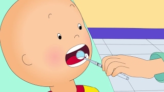 Funny Animated cartoons Kids | Caillou at the DENTIST | WATCH CARTOONS ONLINE | Cartoon for Children thumbnail