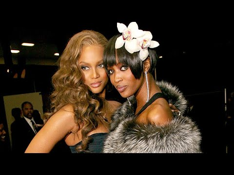 """Tyra Banks """"I'm Still VERY Scared Of Naomi Campbell"""""""