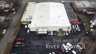 Warehouse For Sale/Lease in River Grove IL near Chicago. Perfect for Auto Body Shop, Cargo Terminal