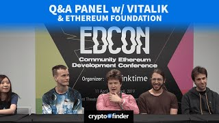Ethereum 2.0 roadmap update by Vitalik & Ethereum Foundation | EDCON 2019