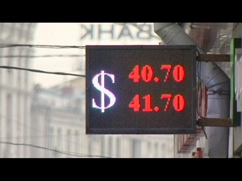 Rouble falls to new all-time low against euro and dollar