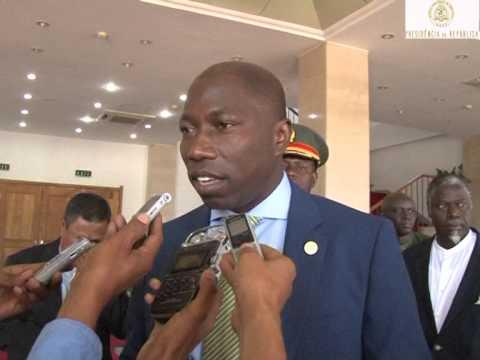 Prezidente Repúblika Taur Matan Ruak,  simu vizita kortezia Primeiro Ministru Guiné Bissau