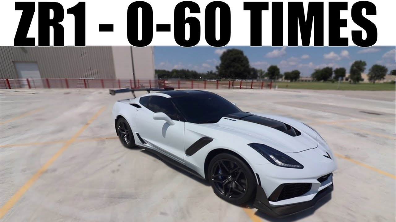 My 2019 Corvette Zr1 0 60 Times I Am Not Surprised