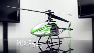 MJX F645 2.4ghz 4ch Fixed PItch Helicopter
