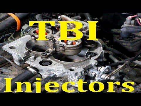 GM TBI Fuel Injector replacement (V6 V8 SBC BBC 4.3L 5.0L 5.7L 7.4L)