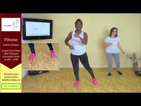 La Kossa Fitness - Online Fitness Class - African Dance Fitness