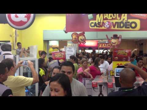 CASA & VÍDEO - ABERTURA DA LIQUIDAÇÃO MALUCA - NORTE SHOPPING - 02MAR2013