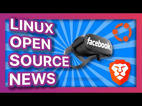Ubuntu brand redesign, Brave launches their search engine, and ads in your Oculus - Linux News