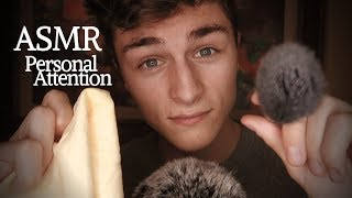 ASMR Highly Sensitive Close Up Personal Attention (Anxiety, Depression, Stress Relief)
