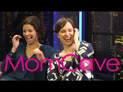 In the MomCave with Jen & Dina | YouTube Women in Comedy | Whohaha | Talk Show for Moms