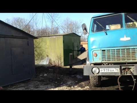 Перевозка гаража