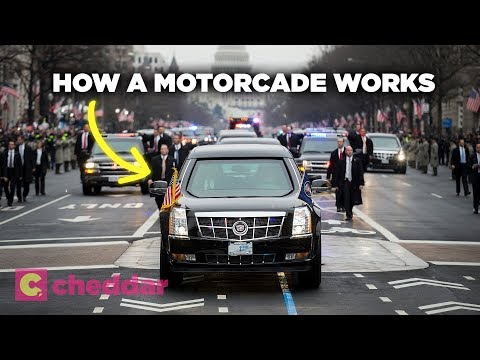 The Anatomy of the Presidential Motorcade - Cheddar Explains