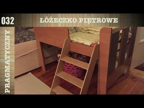 Jak zbudować łóżeczko dziecięce piętrowe