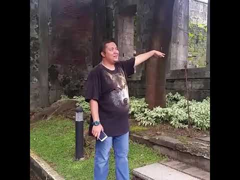 Brian as our tour guide in Fort Santiago
