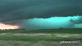 Shelf Cloud/ Awesome Storm Structure - Lidgerwood, ND