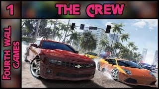 The Crew PC Gameplay - Part 1 - 1080p 60fps Max (Ultra) Settings