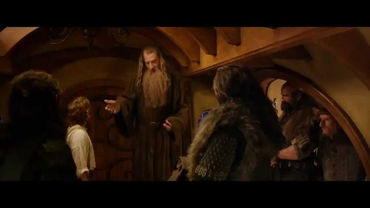 Hobbit: Beklenmedik Yolculuk: Fragman (Orjinal Dil)