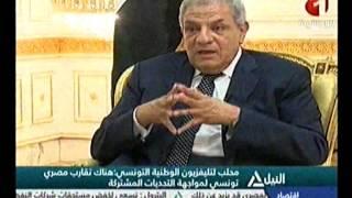 بالفيديو..محلب للتليفزيون التونسى: إحياء اللجنة المصرية التونسية يعكس الإرادة فى توطيد العلاقات