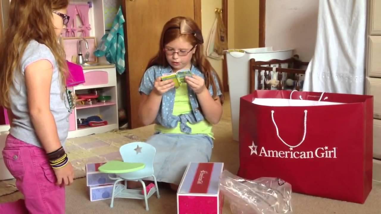 School Doll Game American Girl