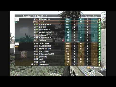 Christmas Noobs Black Ops 2 Sniper Commentary - zPro JR
