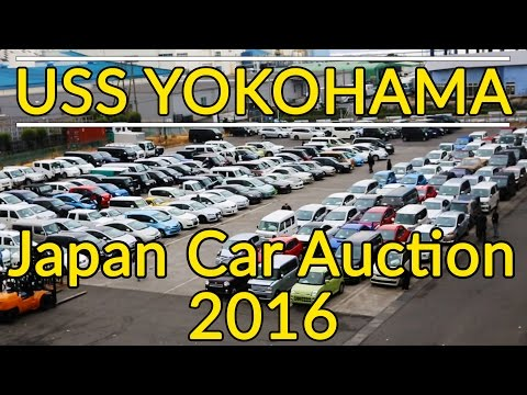 Hidden facts and secrets of a Japanese Car Auction | USS Yokohama 2016 [Subtitled]