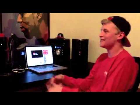 Nate Back With It AGAIN! White Boy Spitting Another Crazy Freestyle Using Random Words!