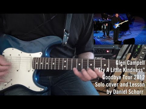 Glen Campbell Guitar Solo Lesson: