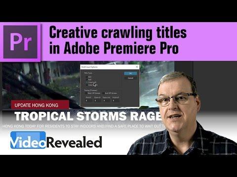 Creative crawling titles