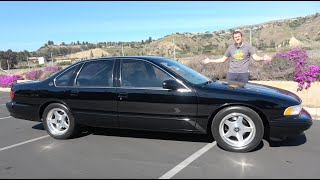 Here's Why the 1996 Chevy Impala SS Was Really Cool