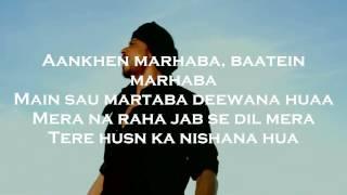 Zaalima Raees Arijit Singh Karaoke with lyrics