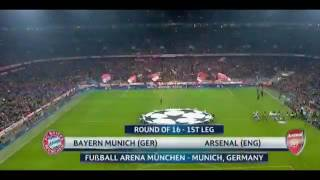 bayern munich vs arsenal 5 1 hd all goals highlights 1st leg