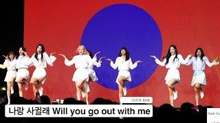 다이아 DIA[4K 직캠]나랑 사귈래 Will you go out with me@170419 Rock Music