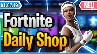 *NEW* MATCH POINT SKIN IN SHOP - Fortnite Daily Shop (1 July 2019)