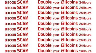 Double up Bitcoin 24 Hour SCAM FINGER WEG, Phishing, Scam, Webseiten