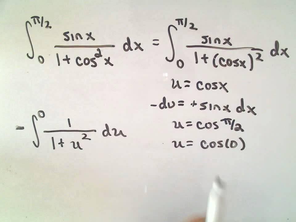 Integration Using Inverse Trigonometric Functions (examples