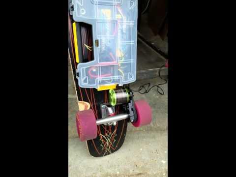 Electric skateboard build