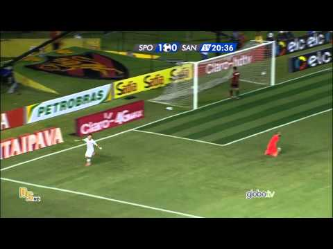 Gols Sport 2 x 1 Santos - Copa do Brasil 2015