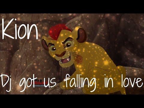 The lion guard Dj got us falling in love   Kion