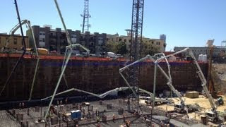 10 Pump mat pour San Diego, CA March 30, 2013 Western Concrete Pumping