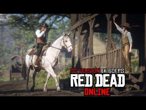 500k Subscriber Live Stream! Red Dead Online PC 4k 60FPS Ultra Gameplay!