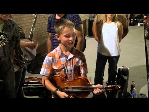Fiddlin Carson Peters Blue Moon of Kentucky at the 80th Galax Old Fiddlers Convention