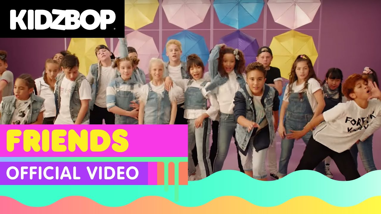 KIDZ BOP Kids - FRIENDS (Official Music Video) [KIDZ BOP 38] #1